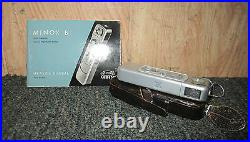 Vintage Minox B All-In-One Precision Ultra-Minature Camera(13.5 15mm) withAccess