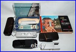 Vintage Minox B Precision Ultra Miniature Spy Camera Flash Filters Manual 100