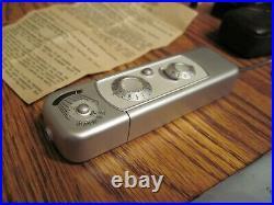 Vintage Minox B West German Spy Camera with Extras
