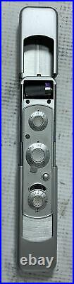 Vintage Minox C Spy Camera with Chain, Leather Case, Manual, Guidebook Tested