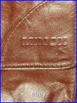 Vintage Minox Leather Camera Case