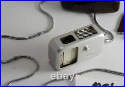 Vintage Minox Wetzlar Light Meter For Models A & S II, III w Case Not Working 04