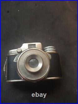Vintage Myracle Model II 2 Sugaya Miniature Micro Camera with Leather Case