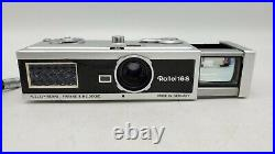 Vintage Rollei 16s Miniature Spy Camera with Super 16 Film, Filters & Rolleiflash