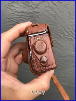 Vintage Steky Camera Model II Spy Camera 25mm Lens 16mm Film Japan