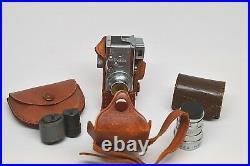 Vintage Steky Mini Camera Model III with Extras