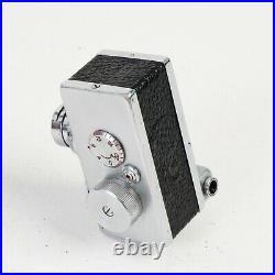 ^ Vintage Steky Model III 16mm Miniature Spy Camera with Case! EX+