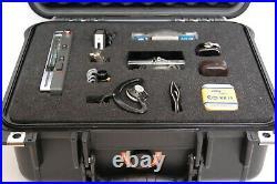 Vintage Stuzzi Memocord Spy Recorder kit, pen microphone, Minox Spy Camera