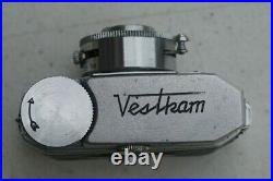 Vintage Vestkam Miniature Submarine Spy Camera Occupied Japan Original Case