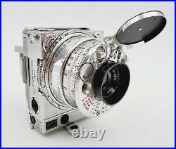 Vintage c. 1937-41 Jaeger-LeCoultre Compass 35mm Film Camera Serial #3088
