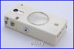 White KOWA RAMERA. Vintage Unique Combination Transistor Radio and 16mm camera